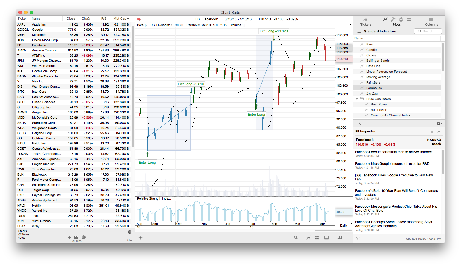 BeeSoft Releases ProTA 4.1 Adding Fundamental Analysis Image